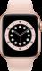 Apple Watch Series 6 (GPS + Cellular, 44 mm), Kulta, hietaroosa ranneke