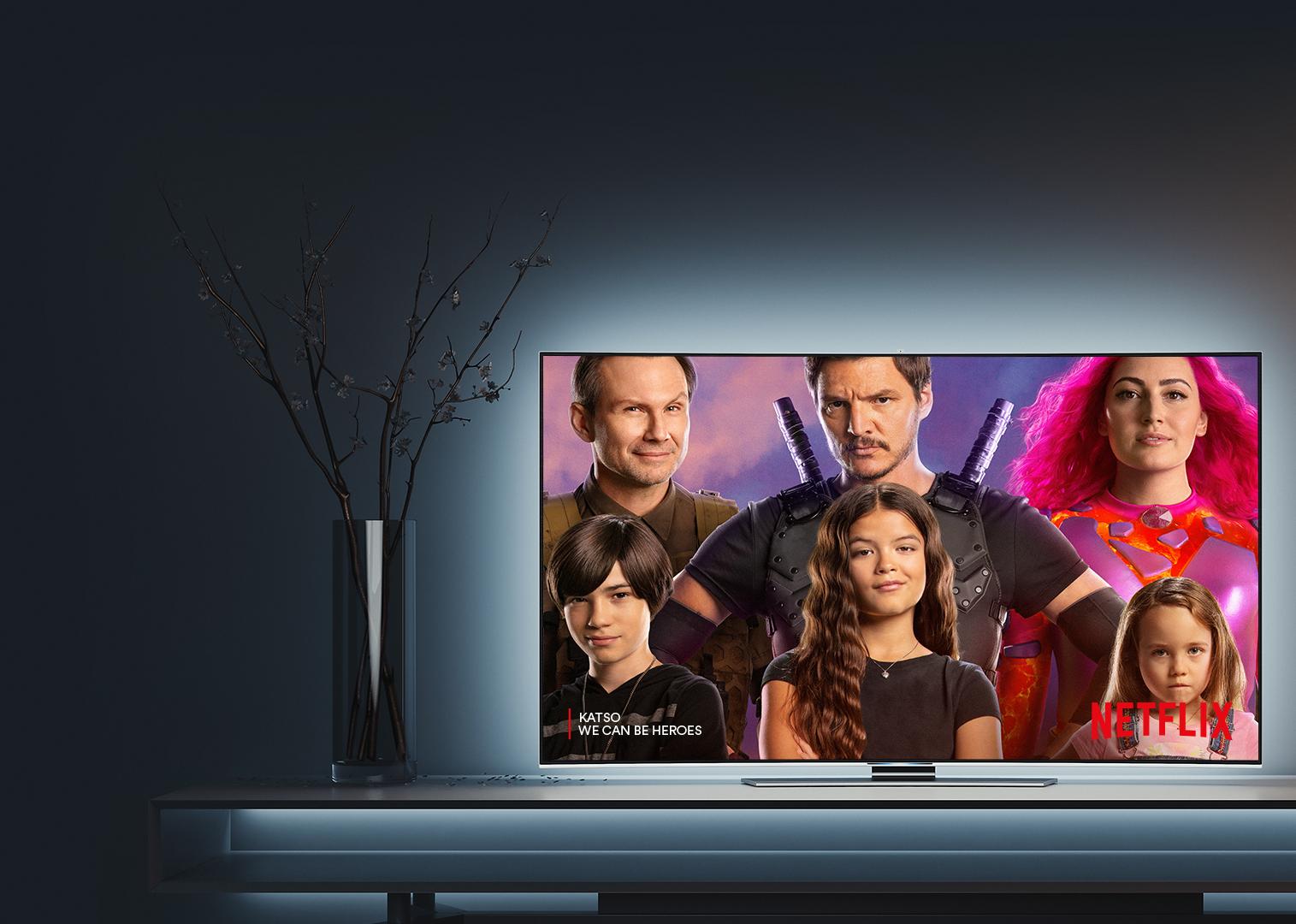 Katso suosikkiohjelmat Netflixistä
