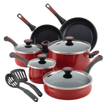 Paula Deen Riverbend Aluminum Nonstick 12Pc Cookware Set