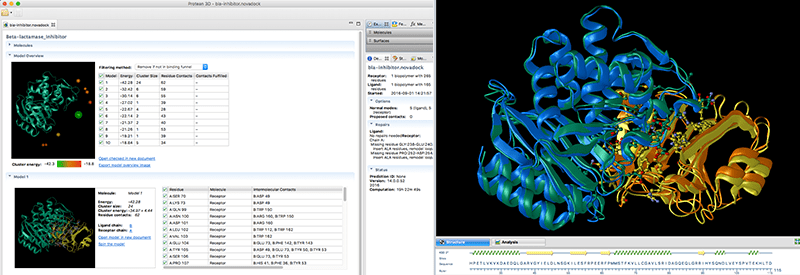 Protein Structure Prediction Results