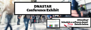 DNASTAR Conference Exhibit Header