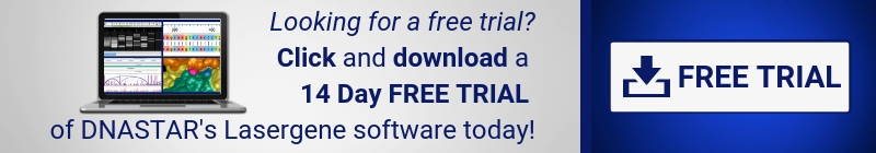 Free Trial Download Banner: Download a 14 Day free trial of Lasergene