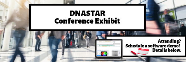 DNASTAR Conference Exhibit Header