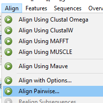 Pairwise Alignment Step 2