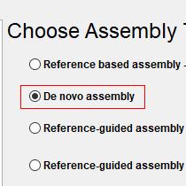 De Novo Assembly Step 1