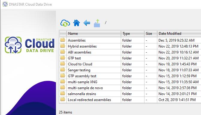 DNASTAR Cloud Data Drive