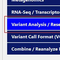 Variant Analysis Step 1
