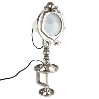 Sesto tafellamp wit-met-ruw-nikkel