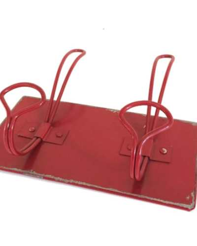 Garderobehaak rood