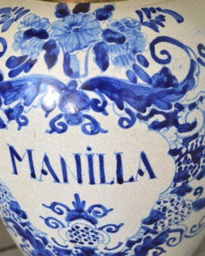 Tabakspot Manilla detail
