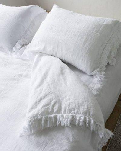 Bettbezug-Loulou Weiß
