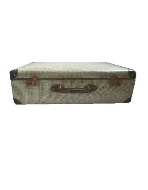 Koffer vintage lichtgroen voorzijde