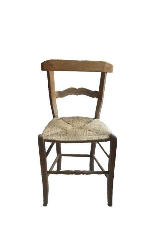 Brocanter ried Stuhl vorne