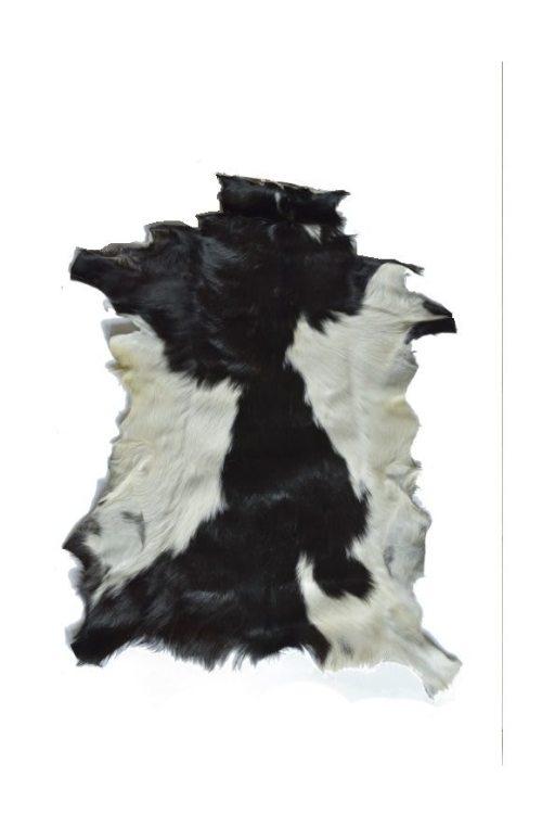Ziegenfell schwarz weiß