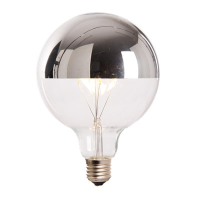 LED-lamp-globe-extra-large-4W-reflecterend-aan