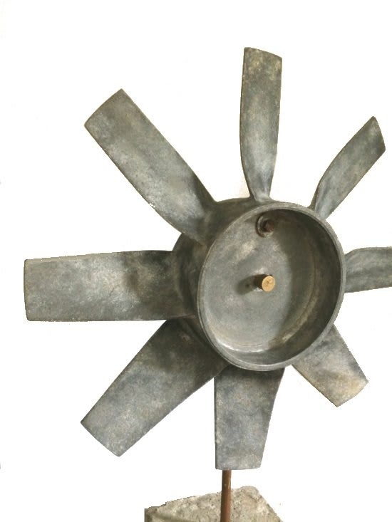 Rotor blad detail