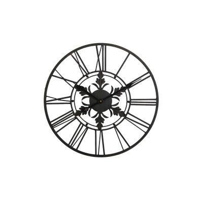 Wandklok-Novara-40-cm-zwart