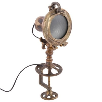 Sesto tafellamp vintage-brons