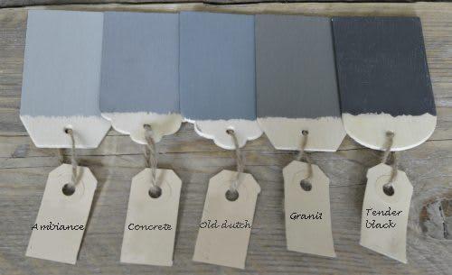 Shades of Gray krijtverf