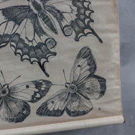 Schoolkaart vlinders detail