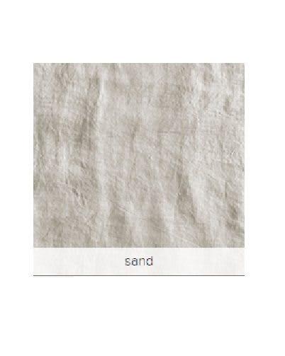 Zandkleurig linnen