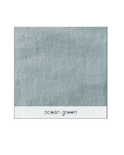 Turquoise linnen/Ocean Green