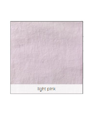Licht roze linnen