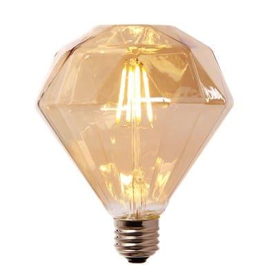 LED-Lampe Diamant Groß -4W-golden