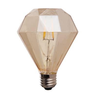 LED Lampe Diamant-klein-4W-golden-aus