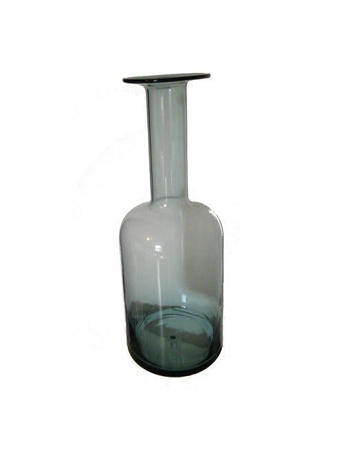 Flaschenvase blau