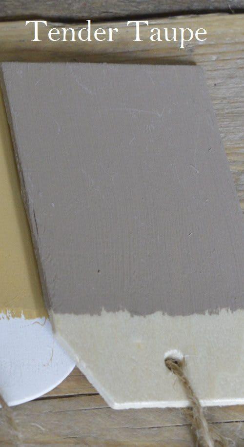 Tender Taupe Kreidefarbe