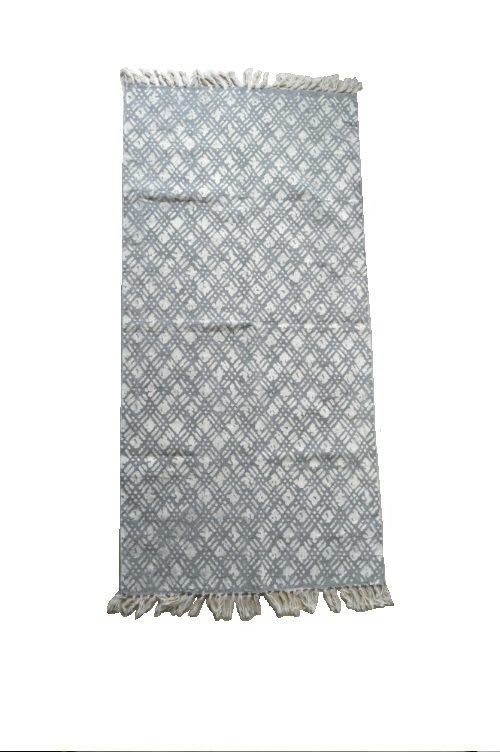Teppich Wybert grau weiß