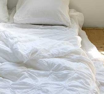 Leinen Bettbezug Sara Detail