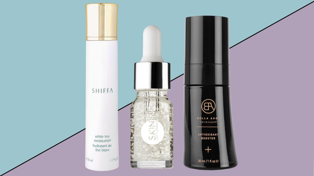 Skincare with antioxidants