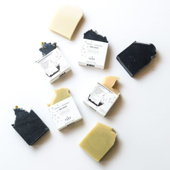 Leef Organics Nooks + Crannies CBD Soap | Spotlyte