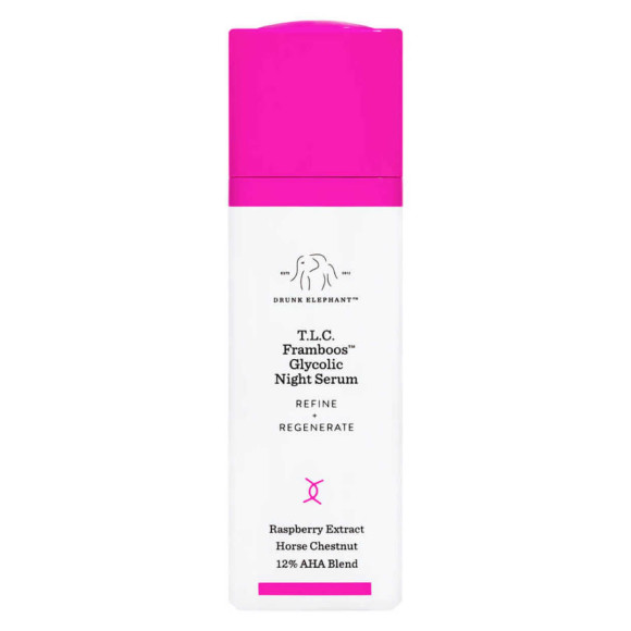 Find Drunk Elephant™ T.L.C. Framboos™ Glycolic Night Serum | Spotlyte