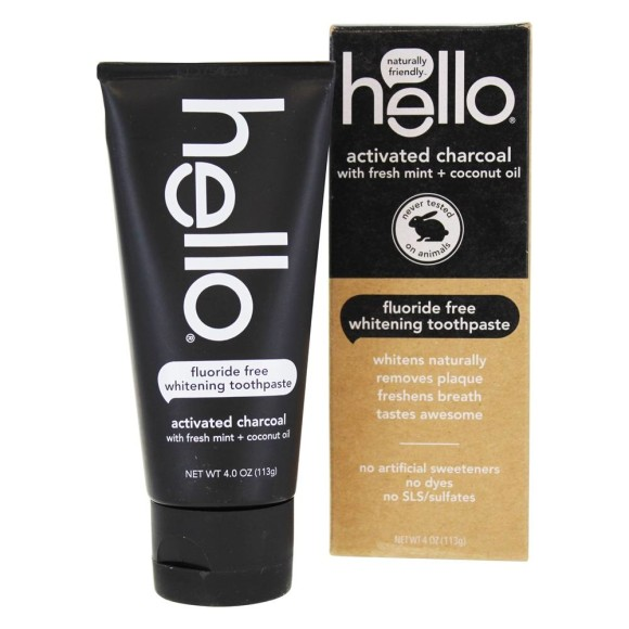Find Hello Charcoal Toothpaste | Spotlyte
