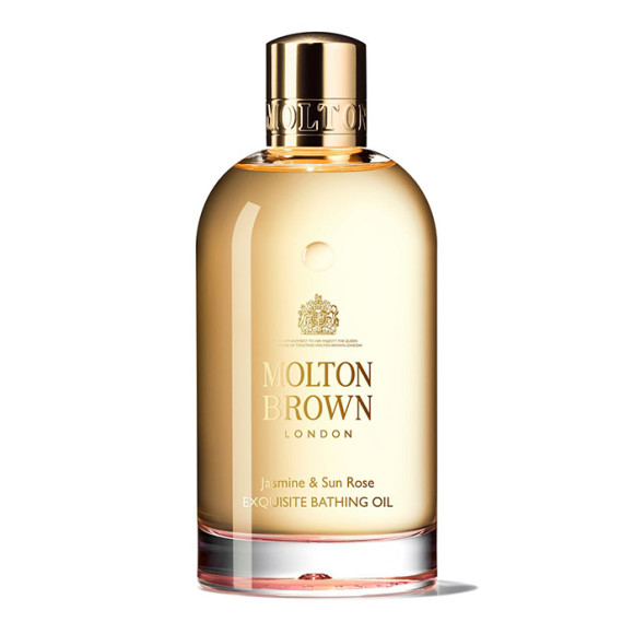 Find Molton Brown Sun Rose Bathing Oil | Spotlyte