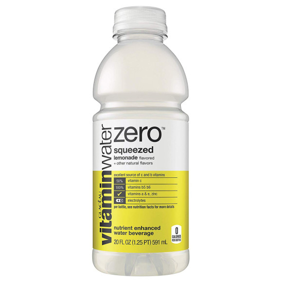 Bottle of Vitamin Water Zero