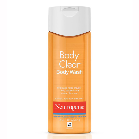 Neutrogena® Body Clear® Acne Body Wash | Spotlyte