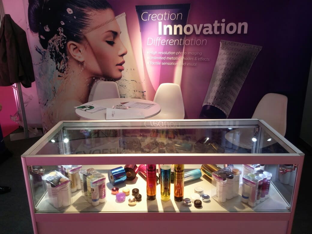 "LageenTubes the ""Packaging Innovation"" exhibition"