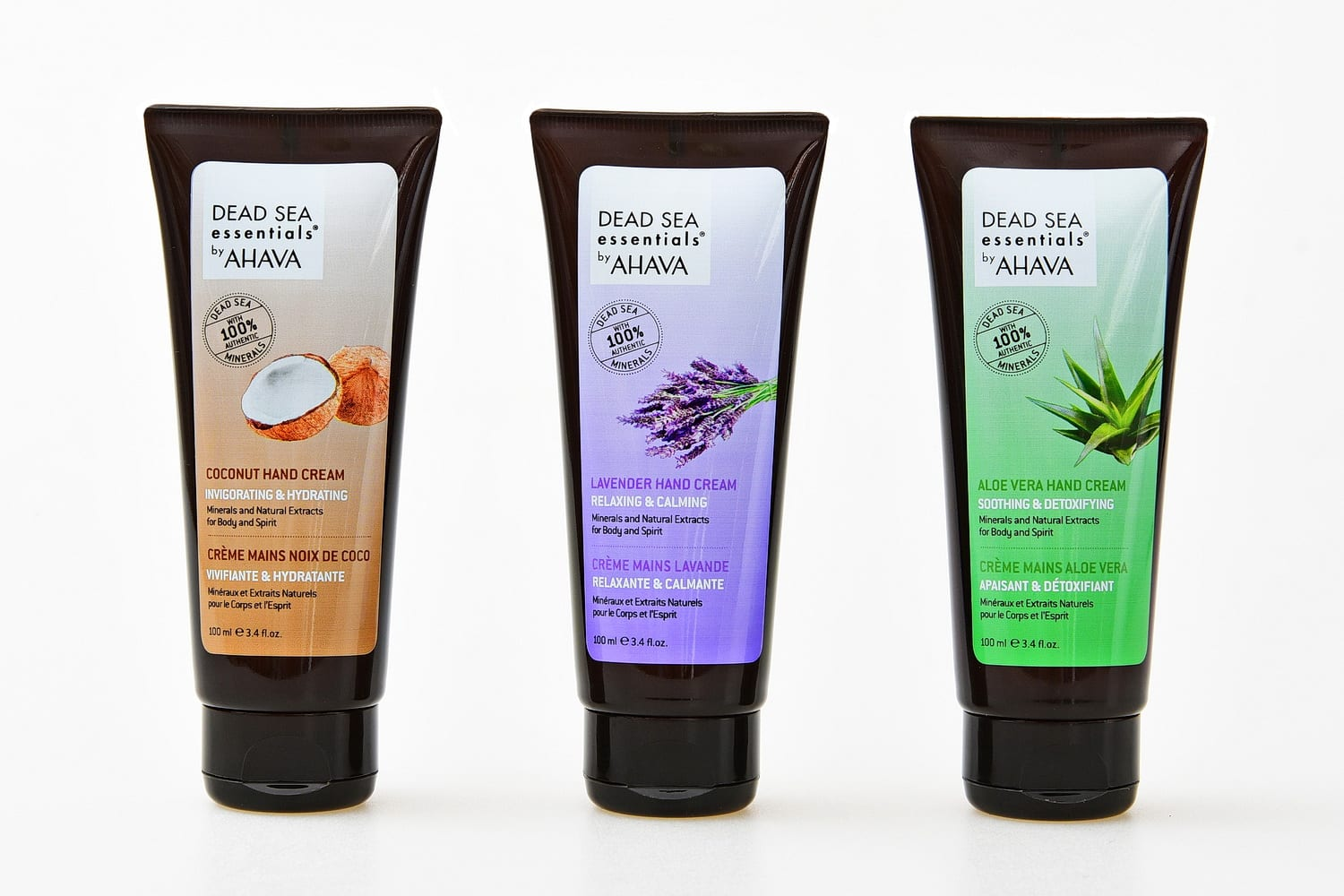 """""""AHAVA"""", the leading brand of Dead Sea skincare products, has chosen LAGEENTUBES unique decorated PE tube for its new line of """"Dead Sea Essentials"""""""