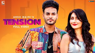 Tension Arsh Maini Afsana Khan Video HD