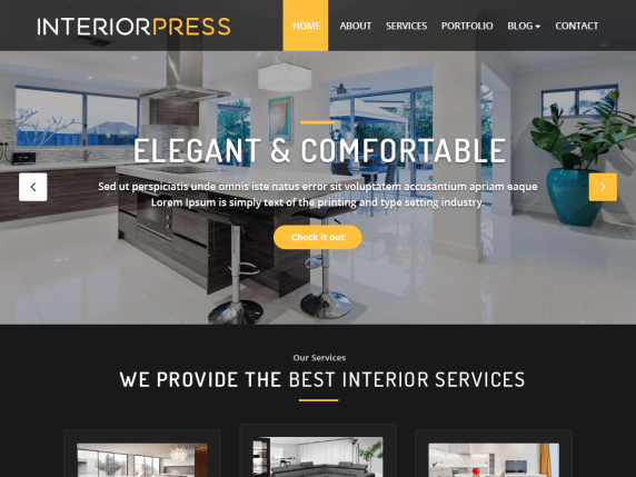 InteriorPress : A Multipurpose Interior WordPress Theme