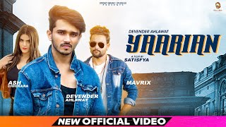 YAARIAN – Devender Ahlawat Ft Mavrix Video HD