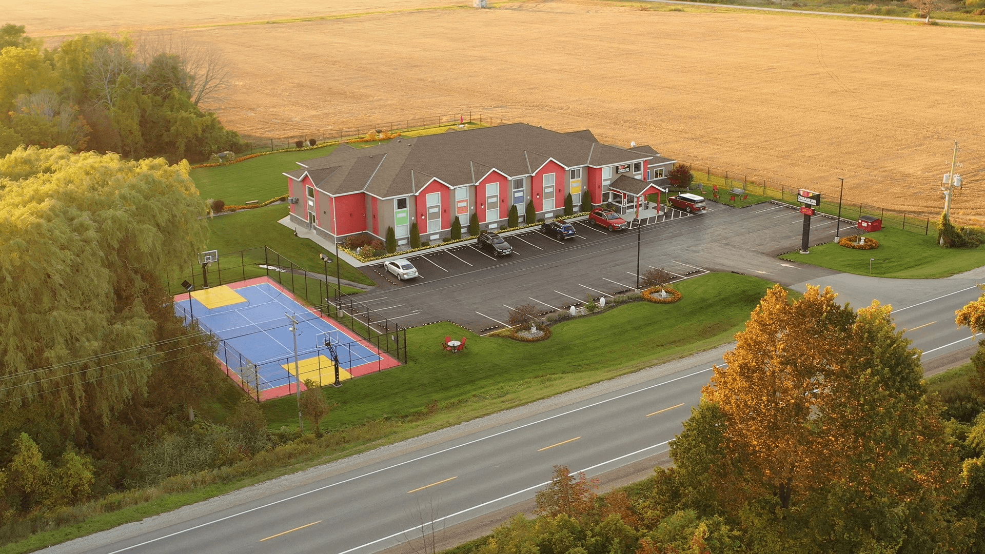 Areal view of inn 3
