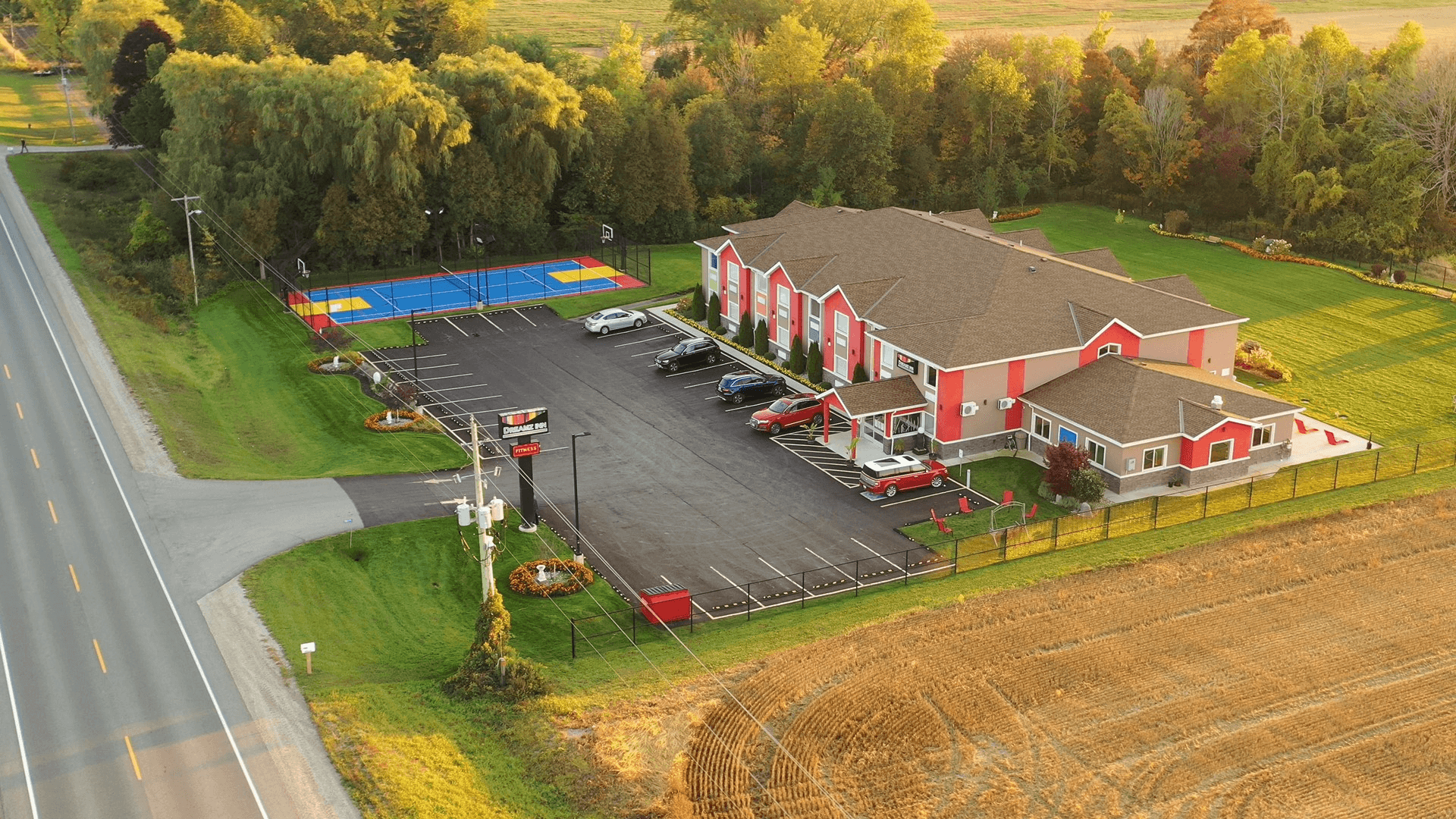 Areal view of inn 2