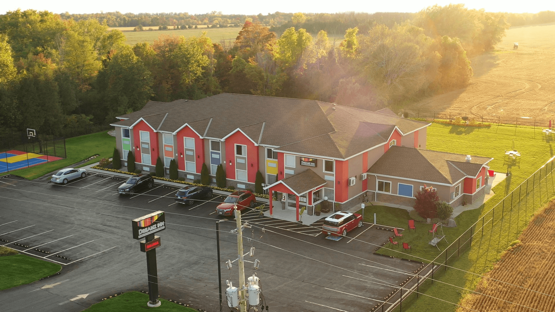 areal view of inn 1