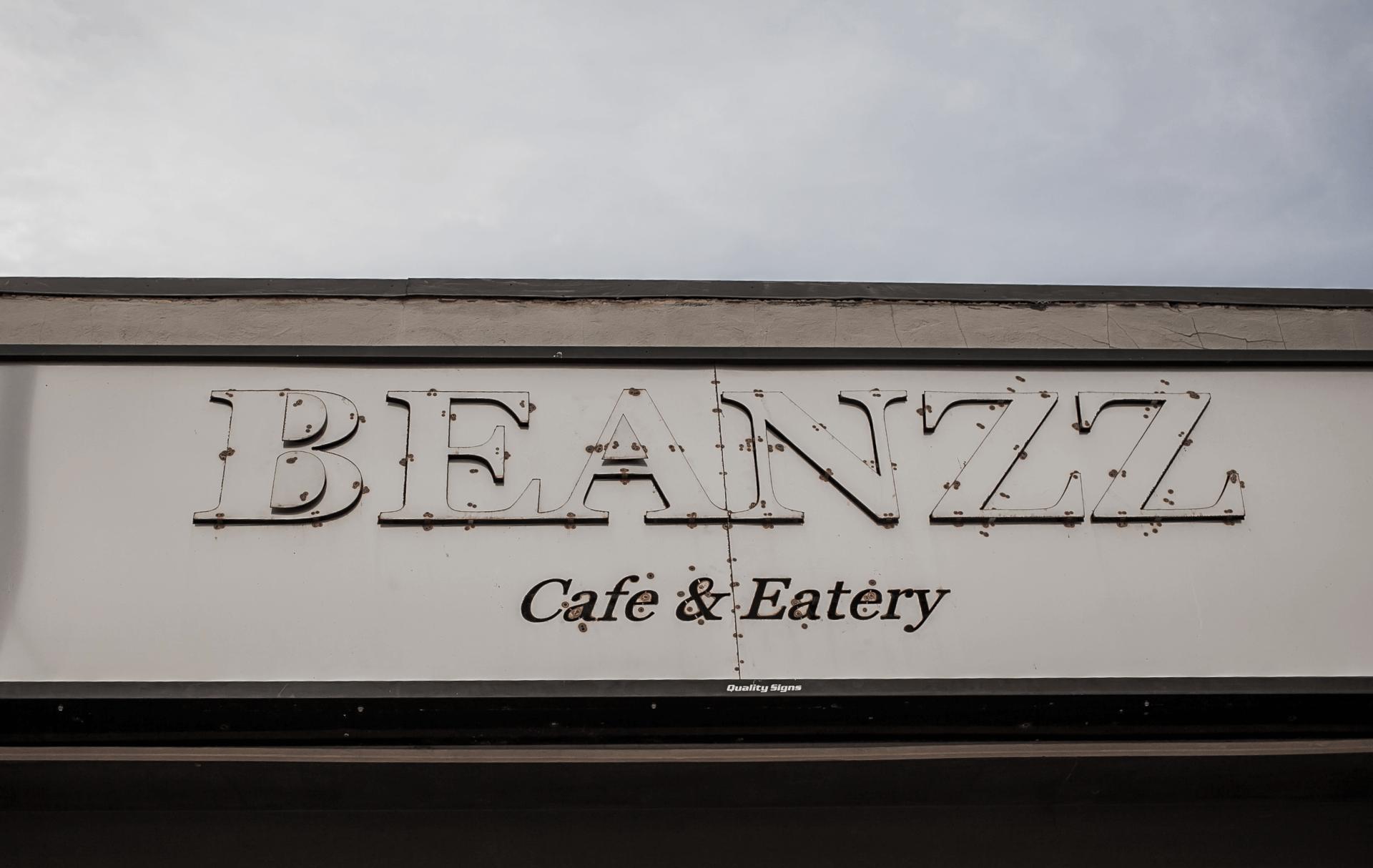 exterior cafe sign