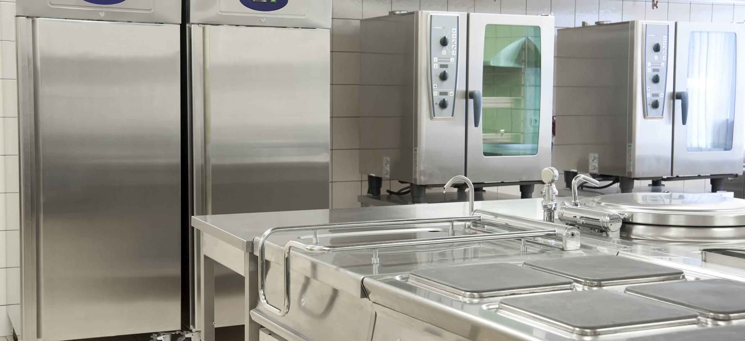 kitchen equipment stainless steel